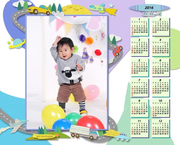 オリジナルカレンダープレゼント
